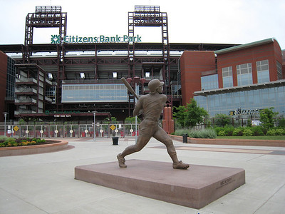 Mike Schmidt Statue - Third Base Gate - Citizen's Bank Park - Philadelphia, Pennsylvania