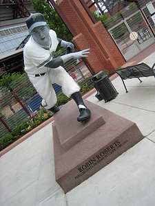 Robin Roberts Statue - First Base Gate - Citizen's Bank Park - Philadelphia, Pennsylvania