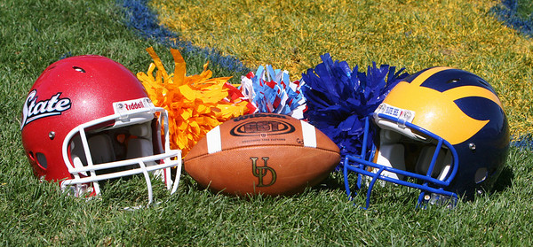 Let the Route 1 Rivalry Begin!  University of Delaware vs Delaware State Football