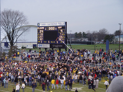 Chattanooga Bound!  University of Delaware vs Wofford 24-9 Final - Tubby Raymond Field - Newark, Delaware