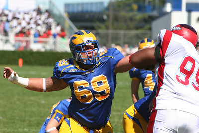 University of Delaware #69 - Lineman - Tubby Raymond Field - Newark, Delaware