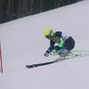 Record-Eagle photo/Jan-Michael Stump<br /> Traverse City West's Austin Skibowski takes a giant slalom run at the region 1 division 1 ski regional Wednesday at Crystal Mountain in Thompsonville.