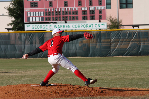 February 18, 2010, Baseball; Vero Beach VS Sebastian.