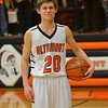 Altamont's Garrett Ziegler poses with the game ball from when the Indian scored his 1,000th career point.
