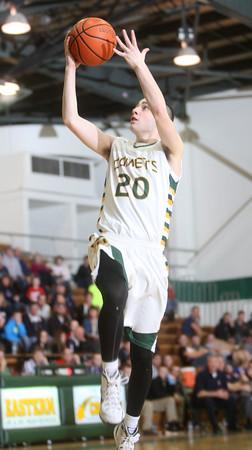 2-12-15<br /> Eastern vs Cass basketball<br /> Eastern's Noah Cope goes for a layup.<br /> Kelly Lafferty Gerber   Kokomo Tribune