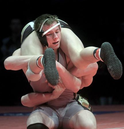 2-21-15<br /> Western's Corey Hinkle is runner up in IHSAA state wrestling.<br /> Kelly Lafferty Gerber   Kokomo Tribune