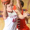 2-27-15<br /> Kokomo vs Northrop basketball<br /> Kokomo's Marcelle Kenner shoots.<br /> Kelly Lafferty Gerber | Kokomo Tribune