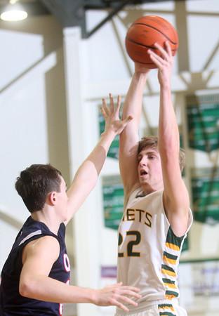2-12-15<br /> Eastern vs Cass basketball<br /> Eastern's Jacob Kinder shoots.<br /> Kelly Lafferty Gerber | Kokomo Tribune