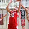 2-26-15<br /> Taylor vs Maconaquah basketball<br /> Maconaquah's Josh Fewell shoots.<br /> Kelly Lafferty Gerber | Kokomo Tribune