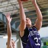 2-20-15<br /> Eastern vs Northwestern basketball<br /> Northwestern's Derek Doubet shoots.<br /> Kelly Lafferty Gerber | Kokomo Tribune