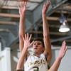 2-20-15<br /> Eastern vs Northwestern basketball<br /> Eastern's Trey Thomas shoots.<br /> Kelly Lafferty Gerber | Kokomo Tribune