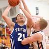 2-24-15<br /> Tipton vs Cass basketball<br /> Tipton's Brody Dell shoots.<br /> Kelly Lafferty Gerber | Kokomo Tribune
