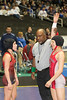 during preliminary action at the UIL Texas State Wrestling Tournament in Garland on Friday, February 20th, 2015. PAUL BRICK FOR PROGRESS TIMES.