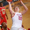 1-31-14<br /> Kokomo vs. Anderson bball<br /> Tayler Persons goes for the basket during the second half.<br /> KT photo | Kelly Lafferty