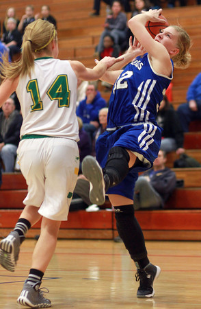 2-11-14<br /> Eastern vs. Tipton basketball<br /> Tipton's Kacie Juday grabs the rebound.<br /> KT photo | Kelly Lafferty