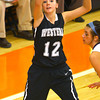 3-1-14  ---  Semi State girls basketball between Western HS and Norwell HS with western winning 41-31. Kiersten Durbin shooting a 3 pointer in the first quarter. -- <br /> KT photo | Tim Bath
