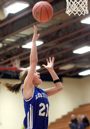 2-11-14<br /> Eastern vs. Tipton basketball<br /> Tipton's Lela Crawford puts up a shot.<br /> KT photo | Kelly Lafferty
