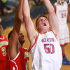 1-31-14<br /> Kokomo vs. Anderson bball<br /> Kokomo's Erik Bowen in the second half.<br /> KT photo | Kelly Lafferty