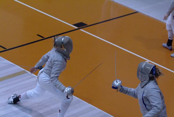 Fencing - NYU Meet 01-26-08