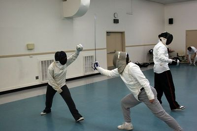 Sabre fight