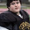 KEN YUSZKUS/Staff photo.  Bishop Fenwick senior football player Max Wilder at practice on Monday.   11/24/14