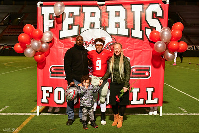 © Heather Stokes Photography - October 25, 2019 Ferris Saxons vs LC Tigers - 10