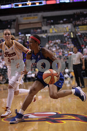 Ind Fever vs Detroit Shock: Playoffs 09