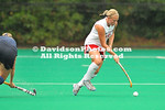 26 September 2010:  Davidson field hockey defeats Georgetown 2-1 at Belk Turf Field in Davidson, North Carolina.