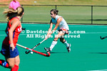 16 October 2011:  Davidson defeats Liberty 3-0 in NorPac field hockey action at Carol Grotnes Belk Turf Field in Davidson, North Carolina.