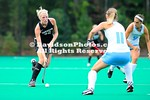 25 September 2012:  Davidson falls to 2nd ranked North Carolina 6-0 in non-conference field hockey action at Carol Grotnes Belk Turf Field in Davidson, North Carolina.