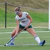 Sarah Johnson plays in a Nashoba girls field hockey pre-season game in August. SENTINEL & ENTERPRISE / Ashley Green