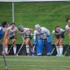 The Nashoba girls field hockey team plays in a pre-season game in August. SENTINEL & ENTERPRISE / Ashley Green