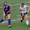 Tess Anderson plays in a Nashoba girls field hockey pre-season game in August. SENTINEL & ENTERPRISE / Ashley Green