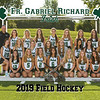 2019 FGR Varsity Field Hockey Team 8x10
