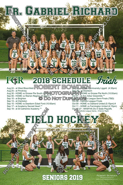 2018 FGR Field Hockey Poster
