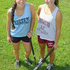 Dominique Zarrella, 19, and her sister Bianca Zarrella, 20, held a field hockey camp behind Leominster High School this week. SENTINEL & ENTERPRISE/JOHN LOVE