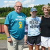 """Michelle's Tournament"" was held at Nashoba Regional High School on Saturday afternoon to fundraise for 15-year-old sophomore Michelle Farnsworth, who is currently battling Rhabdomyosarcoma, a rare form of cancer. Here, Michelle is pictured with her parents, John and Brenda. SENTINEL & ENTERPRISE / Ashley Green"