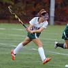 Oakmont's Maddie Moran gets ret to shoot the ball down field. SENTINEL & ENTERPRISE/JOHN LOVE