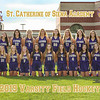 SCA Varsity Field Hockey Team 8x10