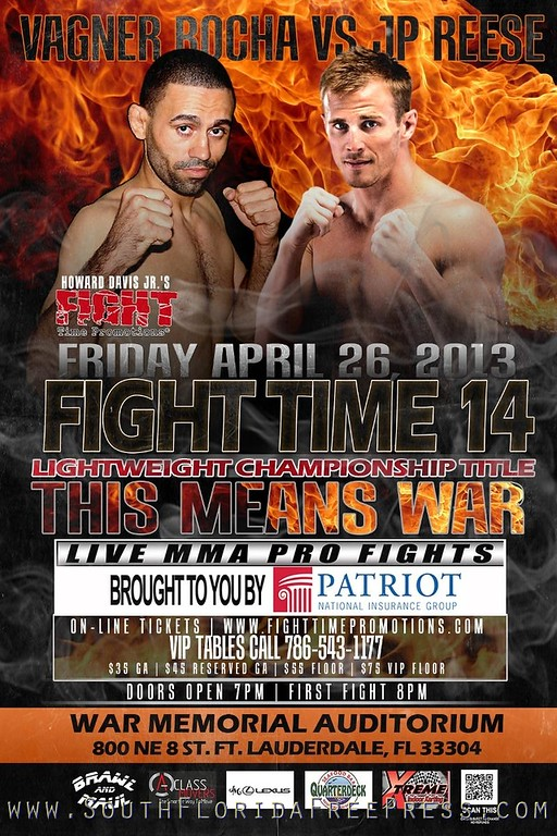 Fight Time 14 - War Memorial Auditorium