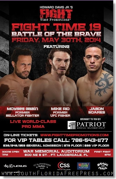 Fight Time 19 - May 30th, War Memorial