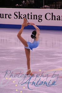 "Christina Gao // Novice Ladies Long Program // ""Yellow River Concerto"""