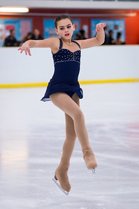 Brampton, Ontario, Canada - (February/4/2017) - Elleni Kypriotakis (Port Credit FSC), preforms her piece at the STARSkate Championships at the Cassie Campbell Community Centre on Saturday in Brampton, Ontario.  Photo by Alicia Wynter