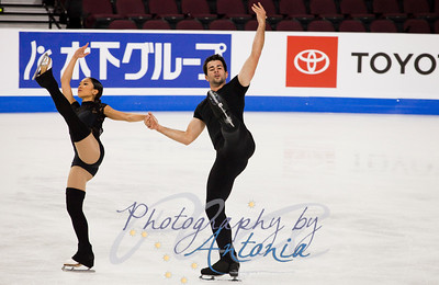 Jessica Calalang & Brian Johnson - Official Practice