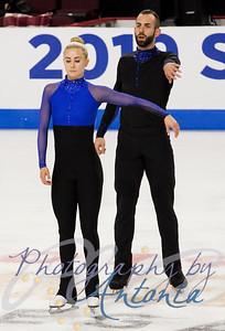 Ashley Cain-Gribble & Timothy LeDuc - Official Practice