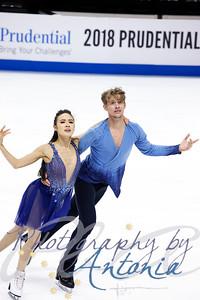 Madison Chock & Evan Bates - Practice
