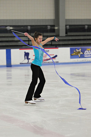 A lyrical ribbon number...skating to Auld Lang Syne by Madison Goodrow