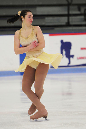 Alexandra Campbell performs an Open Gold program...who recently passed the Free Style 6 test