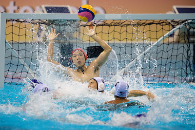 Players in action against Malaysia Vs Zimbabwe at OCBC Aquatic Centre  at Singapore on 12th oct 2019. Photo by Sanketa Anand/Sport Singapore