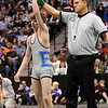 Courtland Hacker of Broomfield wins the 4A state championship at 119 pounds.<br /> Cliff Grassmick / February 20, 2010
